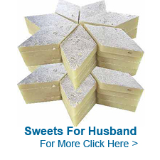 Sweets for Husband to India