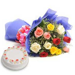 Deliver Mother's Day Flowers n Cakes to India