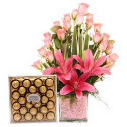 Deliver Flowers and Cakes to India