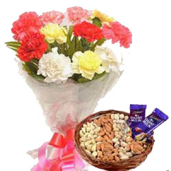 Send Mother's Day Flowers and Cakes to India