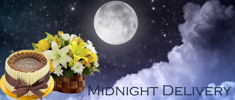 Midnight Gifts Delivery in Noida