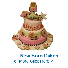 New Born Cakes to India