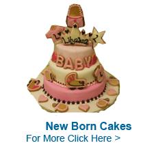 New Born Cakes to India