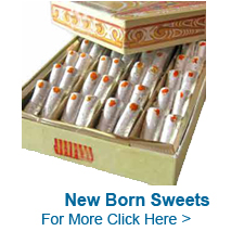 New Born Sweets to India