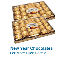 Send New Year Chocolates to India