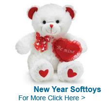 New Year Soft Toys to India