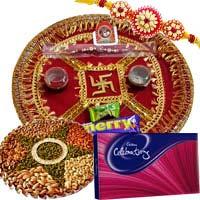 Send Rakhi Dry Fruits Gifts to India