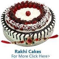 Rakhi Cakes to India