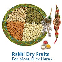 Dryfruits for Rakhi to India