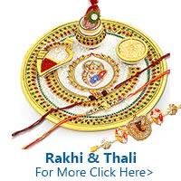 Send Rakhi Thali to India