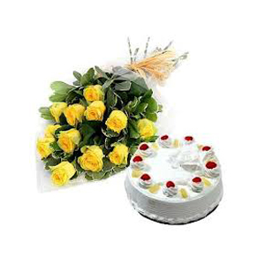 Online Yellow Flowers to India