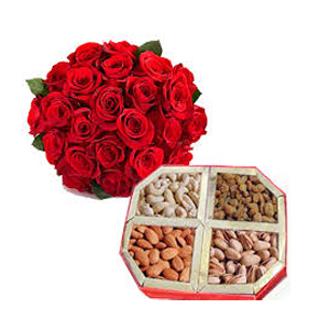 Place Order for Flowers to India