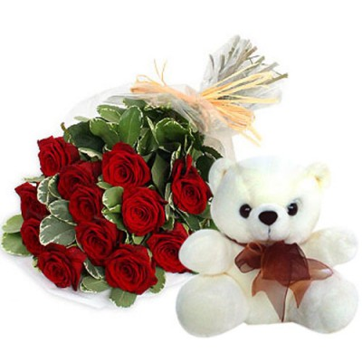 Softtoys and Flowers  for Dussehra to India