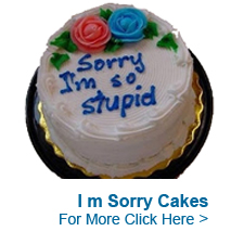 Send Sorry Cakes to India