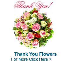 Thank You Flowers to India