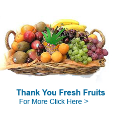 Thank You Fruits to India
