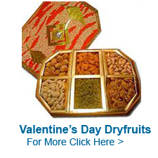 Valentine's Day Dry Fruits to India