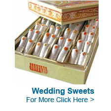 Wedding Sweets to India