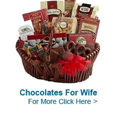 Chocolates to India