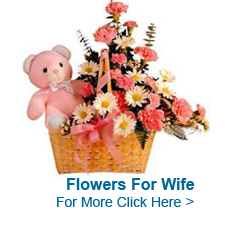 Flowers For Wife to India