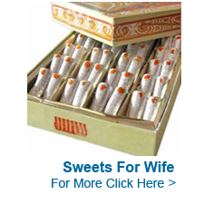 Sweets For Wife to India