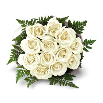Deliver flowers to india online white roses to india send flowers deliver white flowers to india mightylinksfo